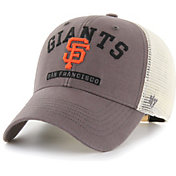 '47 Men's San Francisco Giants Gray Brayman Snap MVP Adjustable Hat