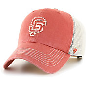 '47 Men's San Francisco Giants Orange Hudson Mesh Clean Up Adjustable Hat