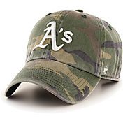 '47 Men's Oakland Athletics Camo Clean Up Adjustable Hat