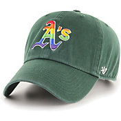 '47 Men's Oakland Athletics Green Pride Clean Up Adjustable Hat