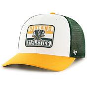 '47 Men's Oakland Athletics Green Evoke MVP Adjustable Hat