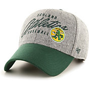 '47 Men's Oakland Athletics Gray Fenmore MVP Adjustable Hat