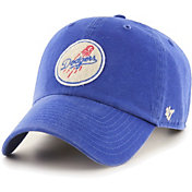 '47 Men's Los Angeles Dodgers Royal Mclean Clean Up Adjustable Hat