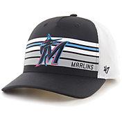 '47 Men's Miami Marlins Black Altitude MVP Adjustable Hat