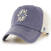 '47 Men's Seattle Mariners Navy Hudson Mesh Clean Up Adjustable Hat