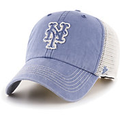 '47 Men's New York Mets Blue Hudson Mesh Clean Up Adjustable Hat