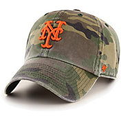 '47 Men's New York Mets Camo Clean Up Adjustable Hat