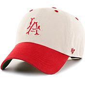 '47 Men's Los Angeles Angels Bone Prewett Clean Up Adjustable Hat