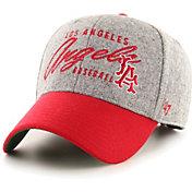 '47 Men's Los Angeles Angels Gray Fenmore MVP Adjustable Hat
