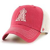 '47 Men's Los Angeles Angels Red Hudson Mesh Clean Up Adjustable Hat
