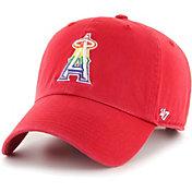 '47 Men's Los Angeles Angels Red Pride Clean Up Adjustable Hat
