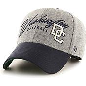 '47 Men's Washington Nationals Gray Fenmore MVP Adjustable Hat