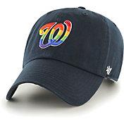 '47 Men's Washington Nationals Navy Pride Clean Up Adjustable Hat