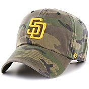 '47 Men's San Diego Padres Camo Clean Up Adjustable Hat