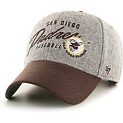 '47 Men's San Diego Padres Gray Fenmore MVP Adjustable Hat