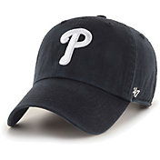 '47 Men's Philadelphia Phillies Black Clean Up Adjustable Hat