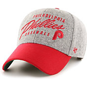 '47 Men's Philadelphia Phillies Gray Fenmore MVP Adjustable Hat
