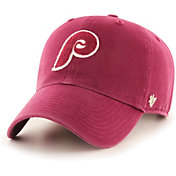 '47 Men's Philadelphia Phillies Red Mclean Clean Up Adjustable Hat