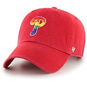 '47 Men's Philadelphia Phillies Red Pride Clean Up Adjustable Hat
