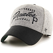 '47 Men's Pittsburgh Pirates Gray Fenmore MVP Adjustable Hat