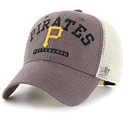 '47 Men's Pittsburgh Pirates Gray Brayman Snap MVP Adjustable Hat