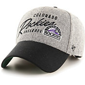 '47 Men's Colorado Rockies Gray Fenmore MVP Adjustable Hat