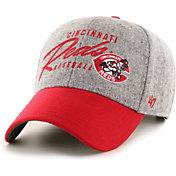 '47 Men's Cincinnati Reds Gray Fenmore MVP Adjustable Hat