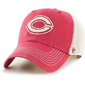 '47 Men's Cincinnati Reds Red Hudson Mesh Clean Up Adjustable Hat