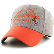 '47 Men's Baltimore Orioles Grey Fenmore MVP Adjustable Hat