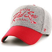 '47 Men's Boston Red Sox Grey Fenmore MVP Adjustable Hat