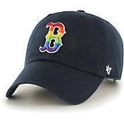 '47 Men's Boston Red Sox Navy Pride Clean Up Adjustable Hat