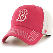 '47 Men's Boston Red Sox Red Hudson Mesh Clean Up Adjustable Hat