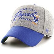 '47 Men's Kansas City Royals Gray Fenmore MVP Adjustable Hat