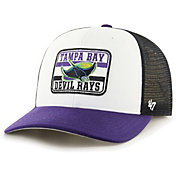 '47 Men's Tampa Bay Rays Black Evoke MVP Adjustable Hat