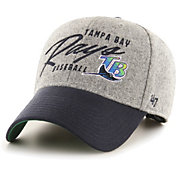 '47 Men's Tampa Bay Rays Gray Fenmore MVP Adjustable Hat