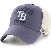 '47 Men's Tampa Bay Rays Navy Brayman Snap MVP Adjustable Hat