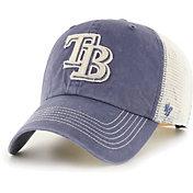 '47 Men's Tampa Bay Rays Navy Hudson Mesh Clean Up Adjustable Hat