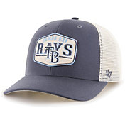'47 Men's Tampa Bay Rays Navy Sumay MVP Adjustable Hat