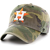 '47 Men's Houston Astros Camo Clean Up Adjustable Hat