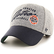 '47 Men's Houston Astros Gray Fenmore MVP Adjustable Hat