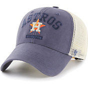 '47 Men's Houston Astros Navy Brayman Snap MVP Adjustable Hat