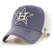'47 Men's Houston Astros Navy Hudson Mesh Clean Up Adjustable Hat
