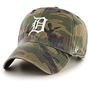 '47 Men's Detroit Tigers Camo Clean Up Adjustable Hat