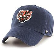 '47 Men's Detroit Tigers Navy Mclean Clean Up Adjustable Hat