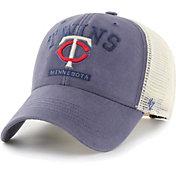 '47 Men's Minnesota Twins Navy Brayman Snap MVP Adjustable Hat