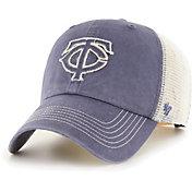 '47 Men's Minnesota Twins Navy Hudson Mesh Clean Up Adjustable Hat