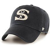 '47 Men's Chicago White Sox Black Mclean Clean Up Adjustable Hat