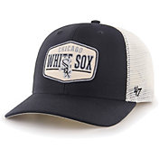 '47 Men's Chicago White Sox Black Sumay MVP Adjustable Hat