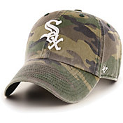 '47 Men's Chicago White Sox Camo Clean Up Adjustable Hat