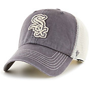 '47 Men's Chicago White Sox Gray Hudson Mesh Clean Up Adjustable Hat